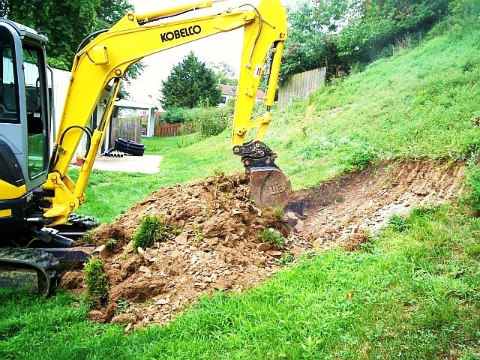 Excavating 19