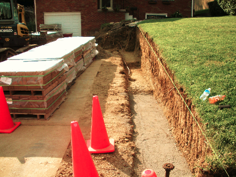Excavating 20