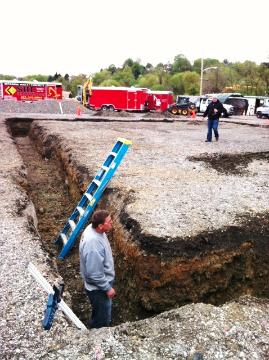 Excavating 12