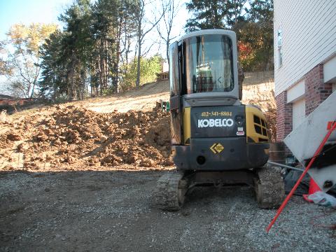Excavating 8