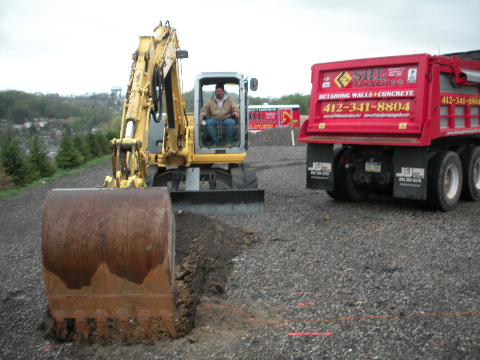 Excavating 24