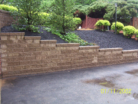 Retaining Walls by South Hills Landscaping and Excavating